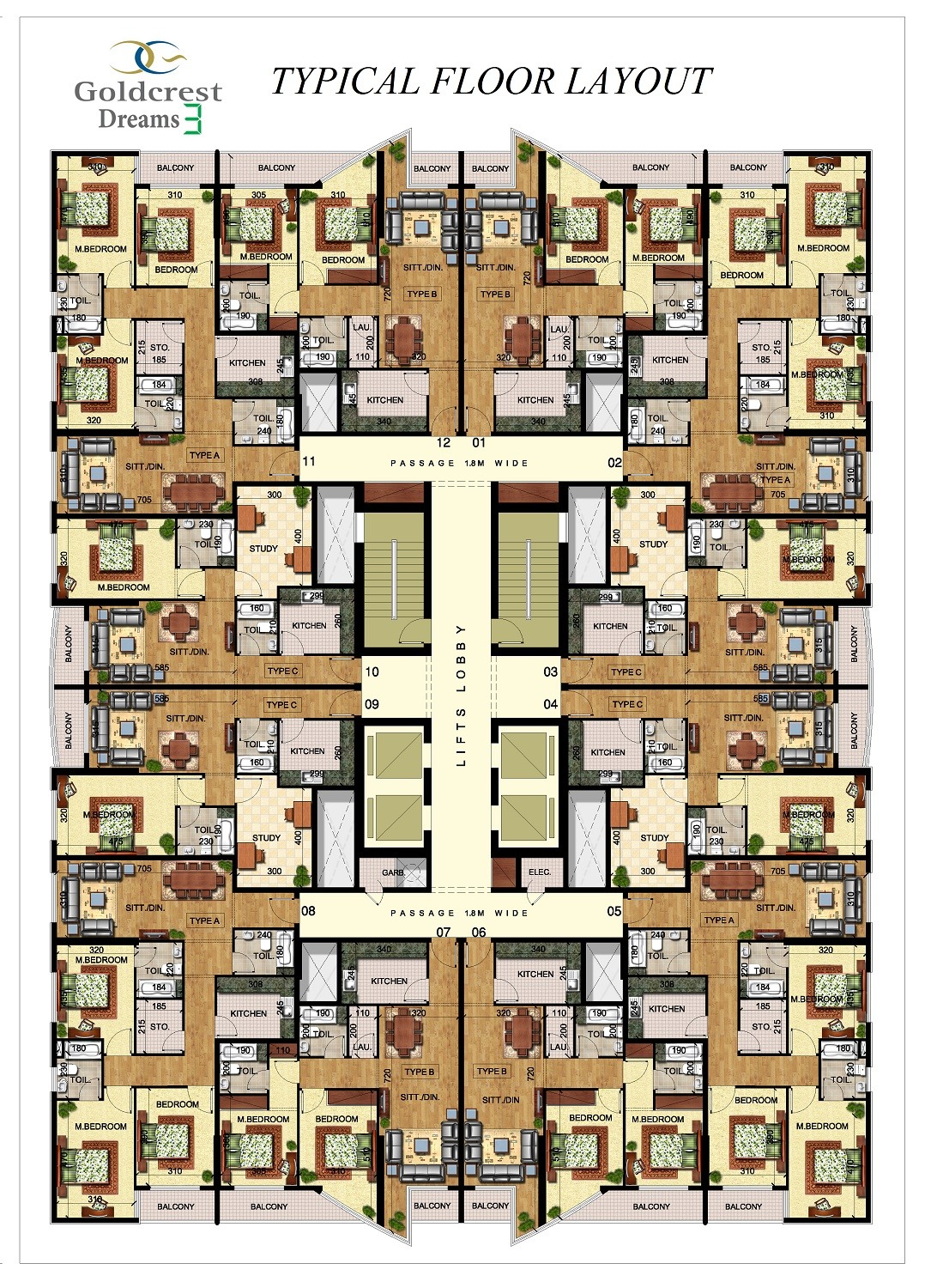 GCD3 FLOOR LAYOUT