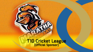 Official Sponsor in T10 Cricket League